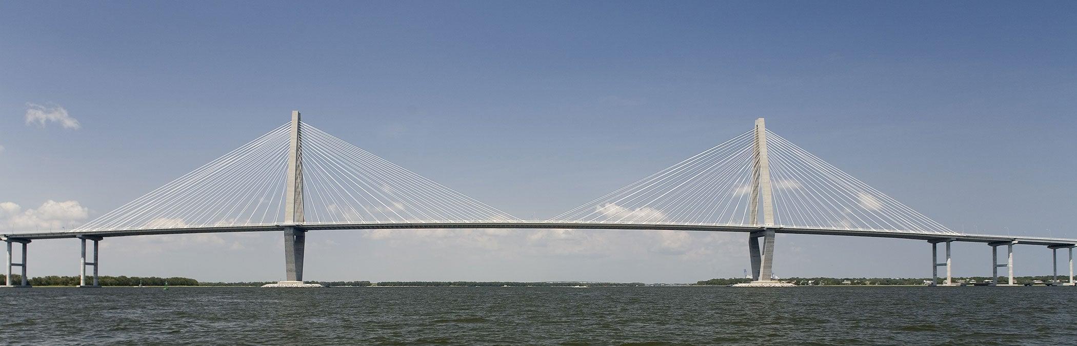 Arthur Ravenel Jr Bridge Cooper River Bridge Hdr