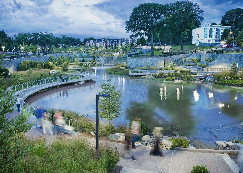 Superieur Historic Fourth Ward Park | HDR