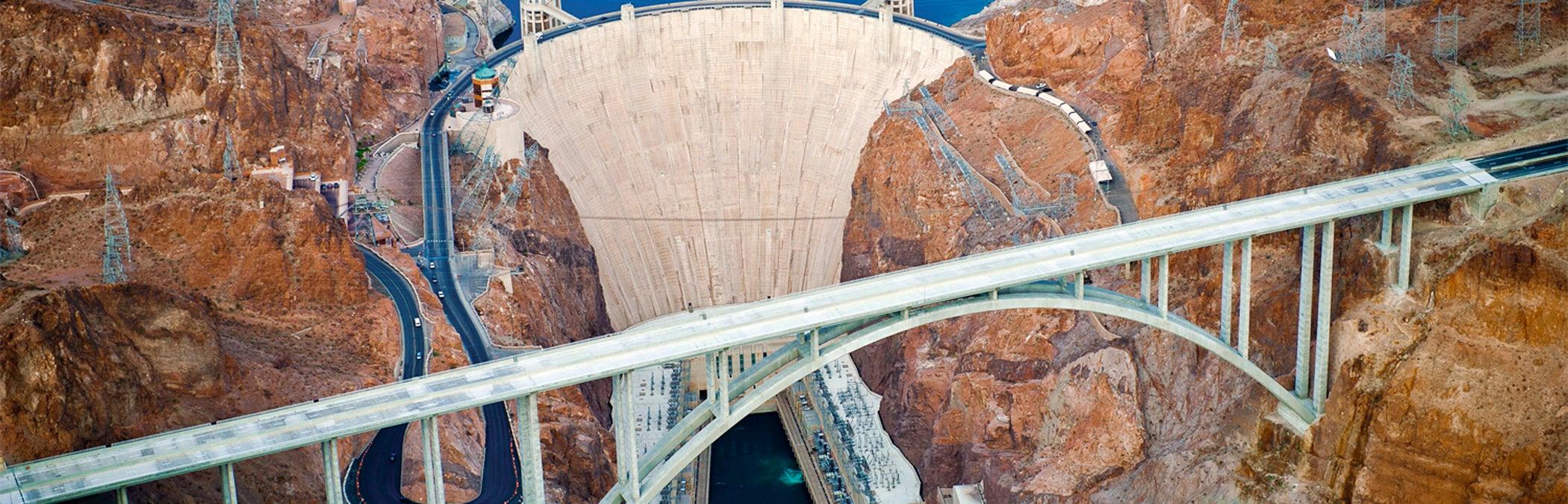 Mike O Callaghan Pat Tillman Memorial Bridge Hoover Dam