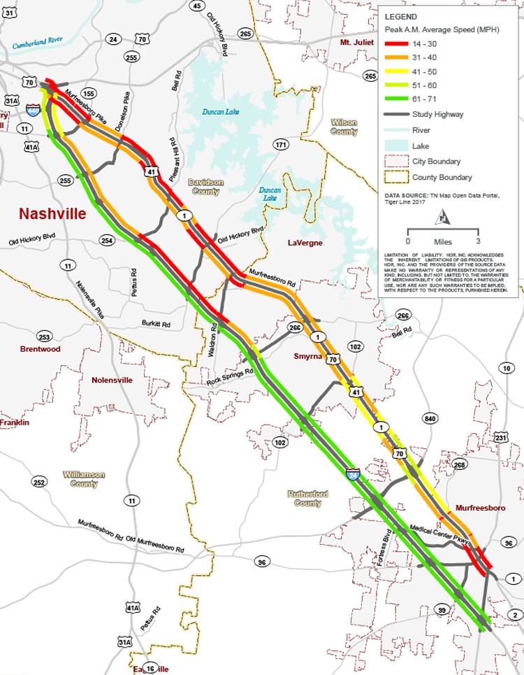 Interstate 24 SMART Corridor | HDR
