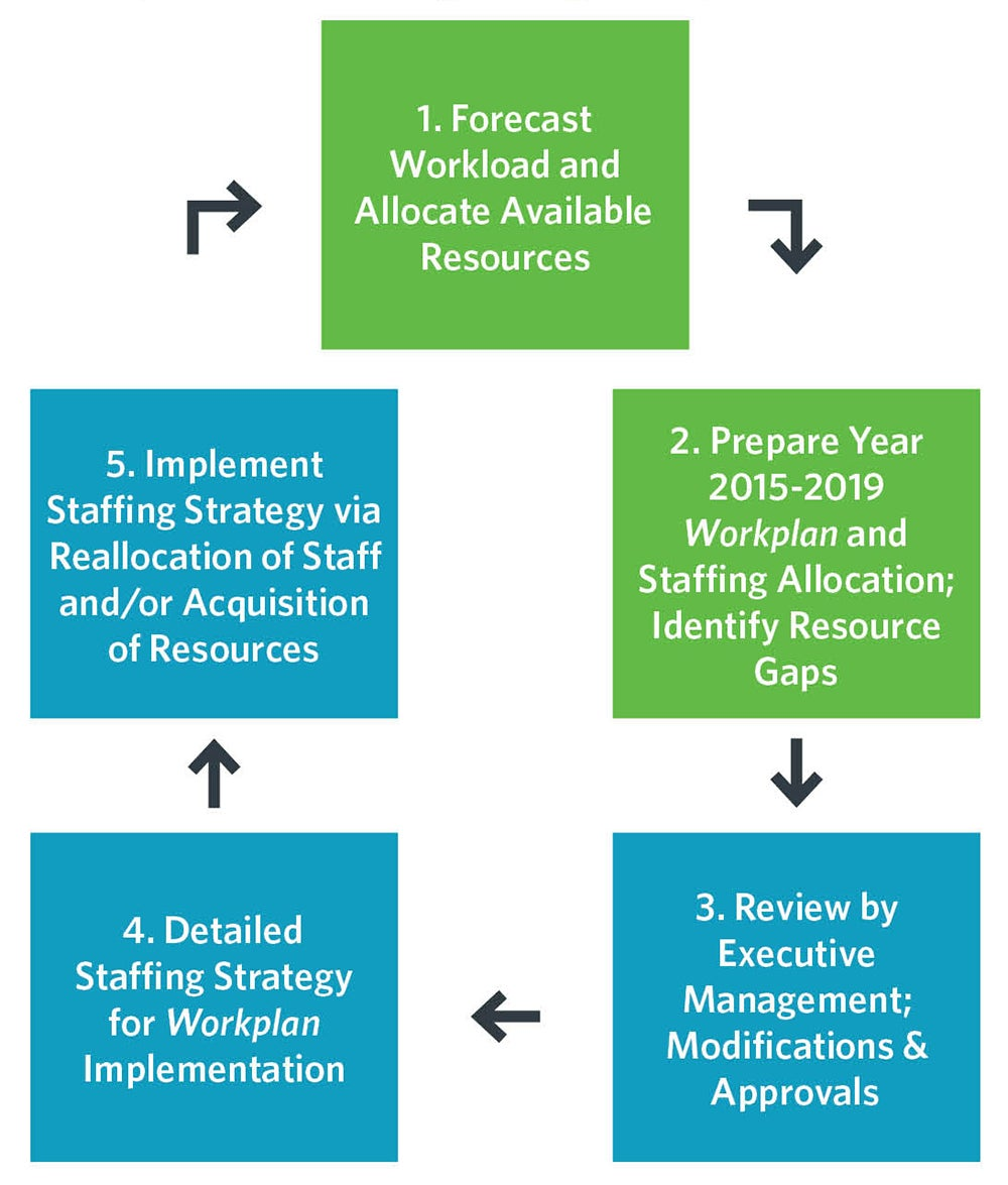 Staffing Plan and Resourcing Strategy Development Process | Business Decisions Using Asset Management Data & Findingsns