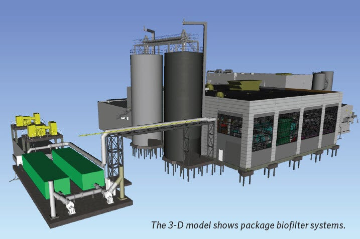 New Drier Facility | Establishing a Balanced Approach to Odor and Pollutant Issues