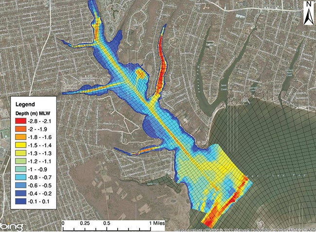 Forge River Model | Integrating Models  Into Water Quality Solutions