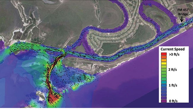 Modeled Storm Surge and Currents | Coastal Modeling Is All Around Us