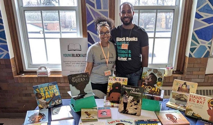 Young, Black & Lit Book Drive