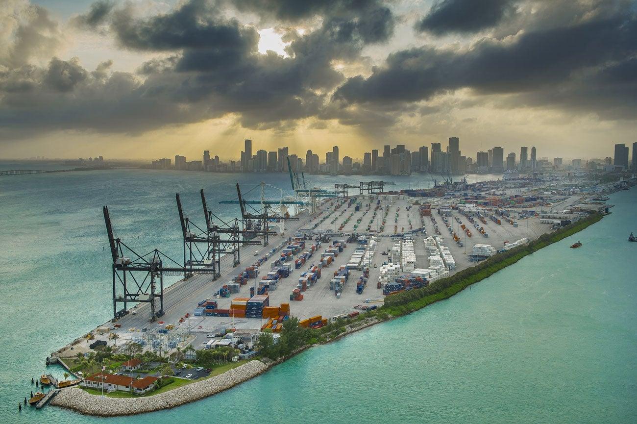 Portmiami Wharves Strengthening Program Cargo Wharves I