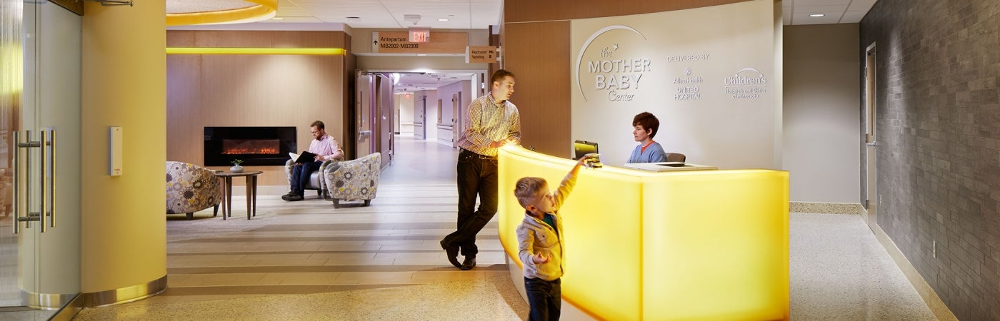 Allina Health United Hospital Mother Baby Center