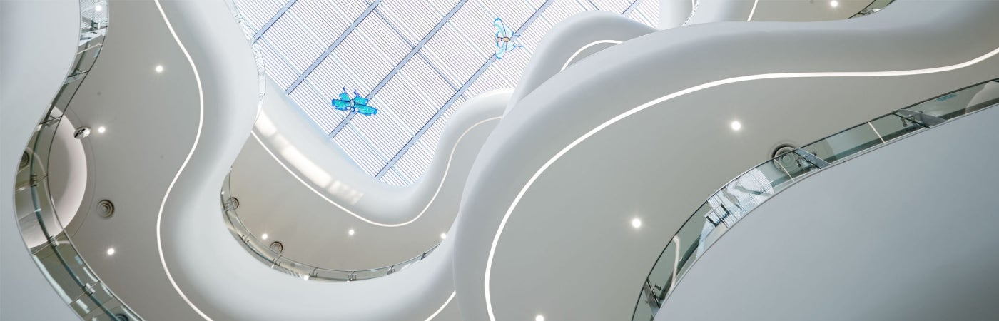 Children's Hospital Soochow Atrium Ceiling