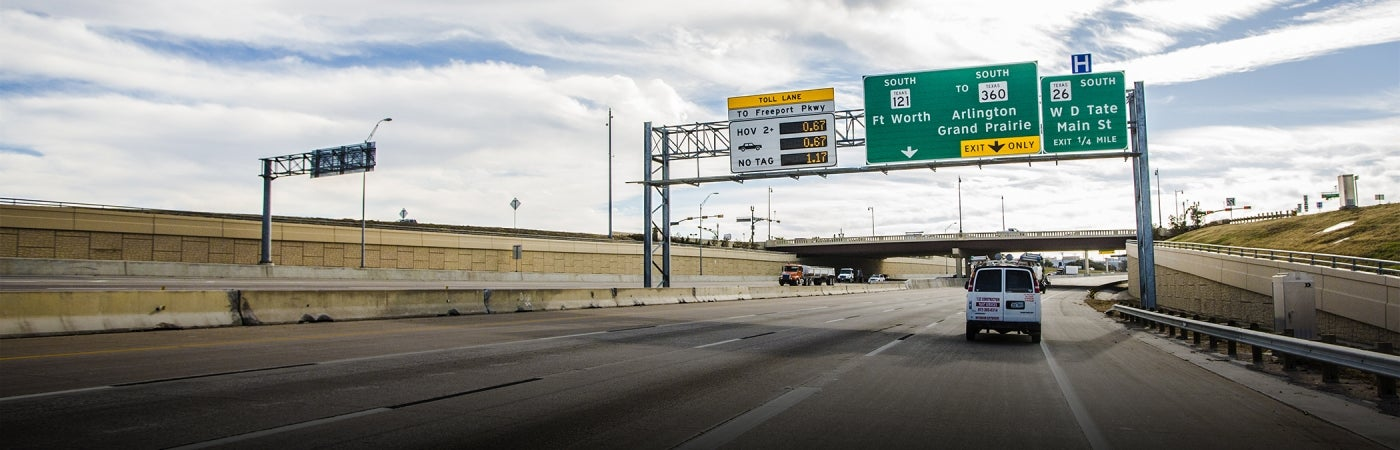 Dallas-Fort Worth Connector Roadway