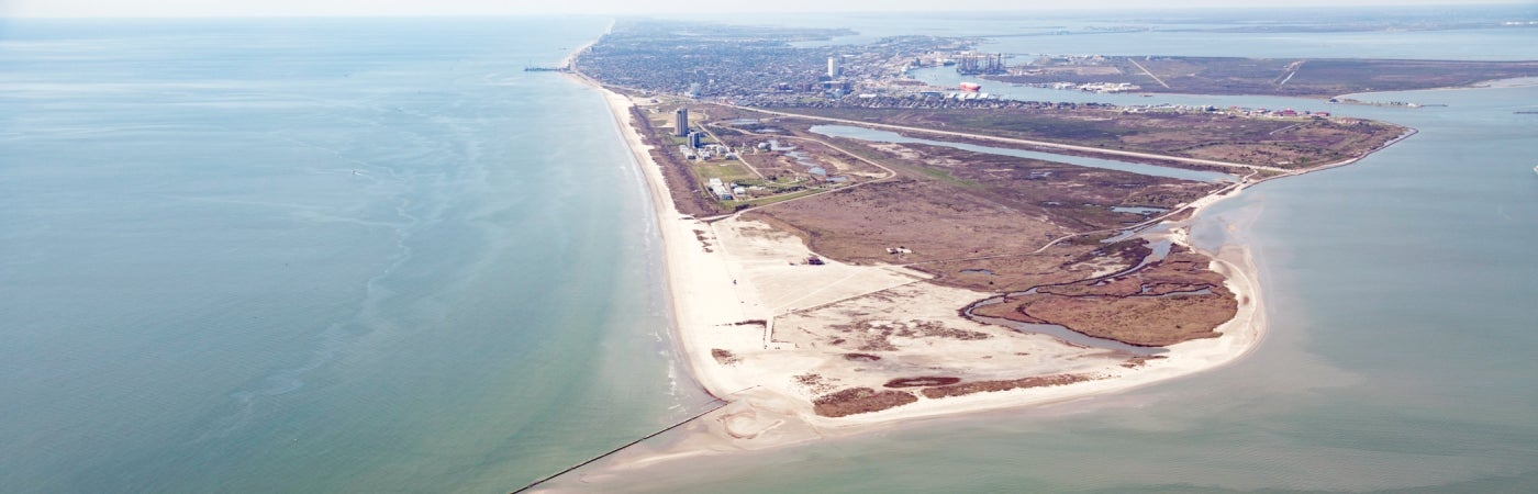 Galveston Island Seawall and Beach Nourishment