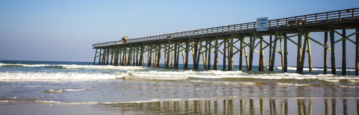 Flagler Beach Pier, Florida