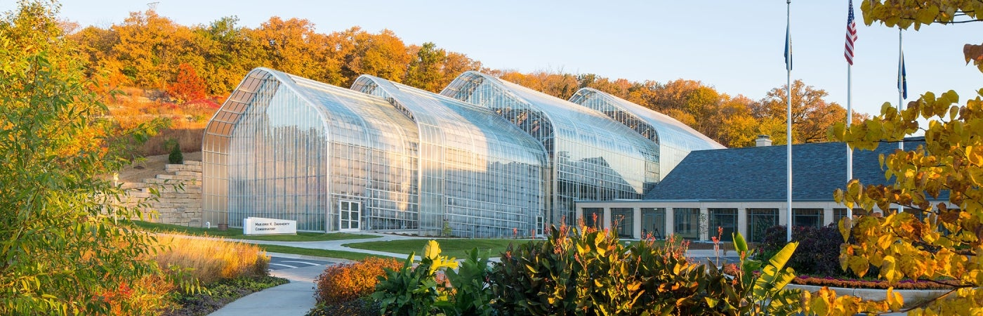 Lauritzen Gardens Conservatory Addition
