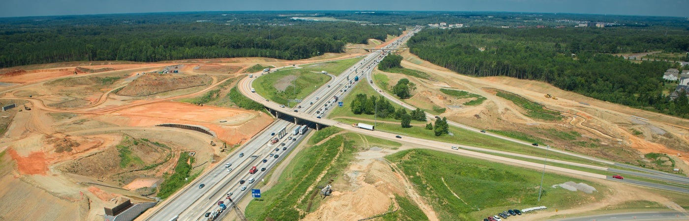 North Carolina I-85 Design-Build Reconstruction, Phase 2