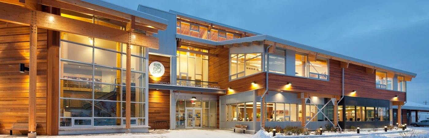 Coast Mountain College Smithers Campus Exterior