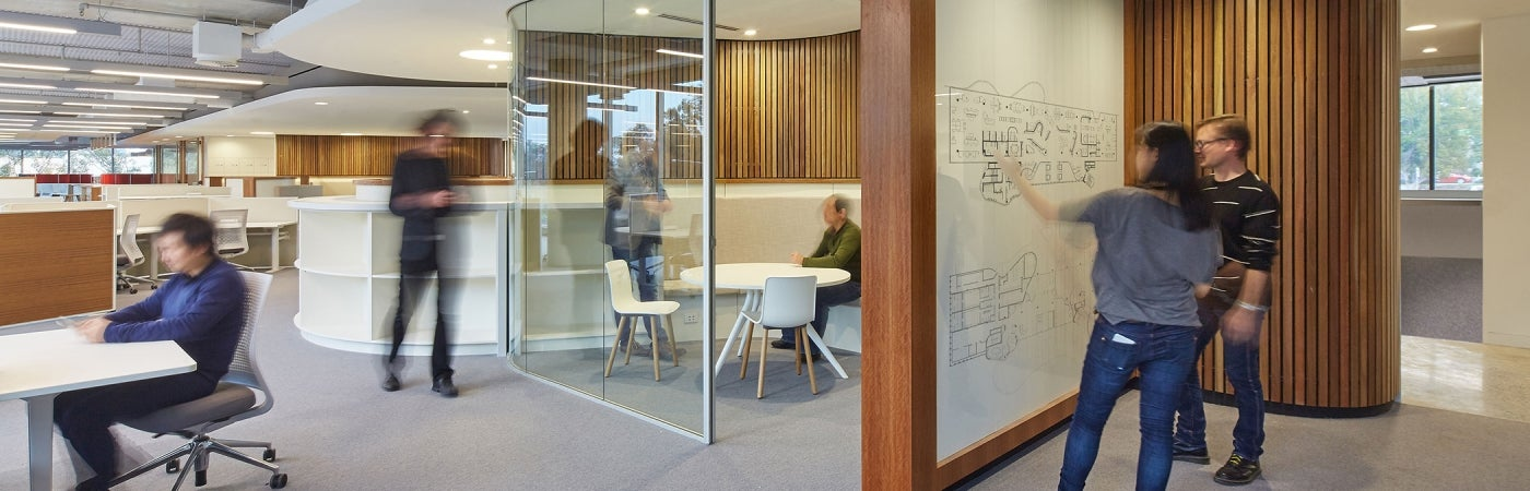 Novartis Australia headquarters collaborative workspace