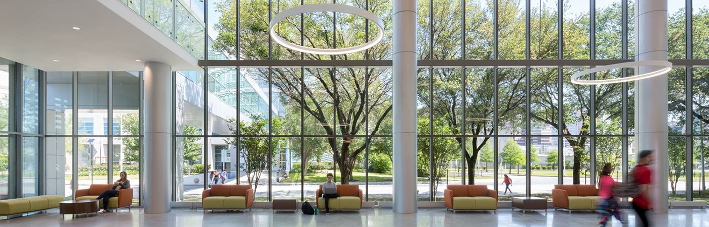 Houston Community College Coleman College Lobby