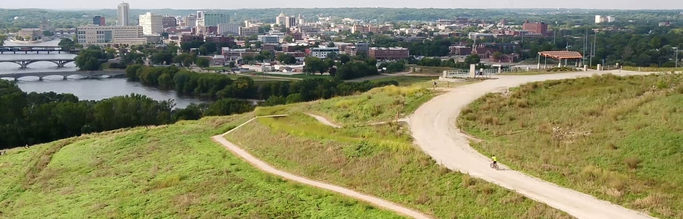 Mount Trashmore Trails and Overlook