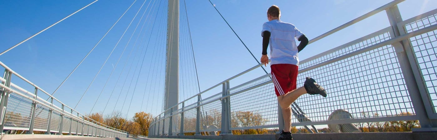 runner outdoors | bob kerry memorial bridge