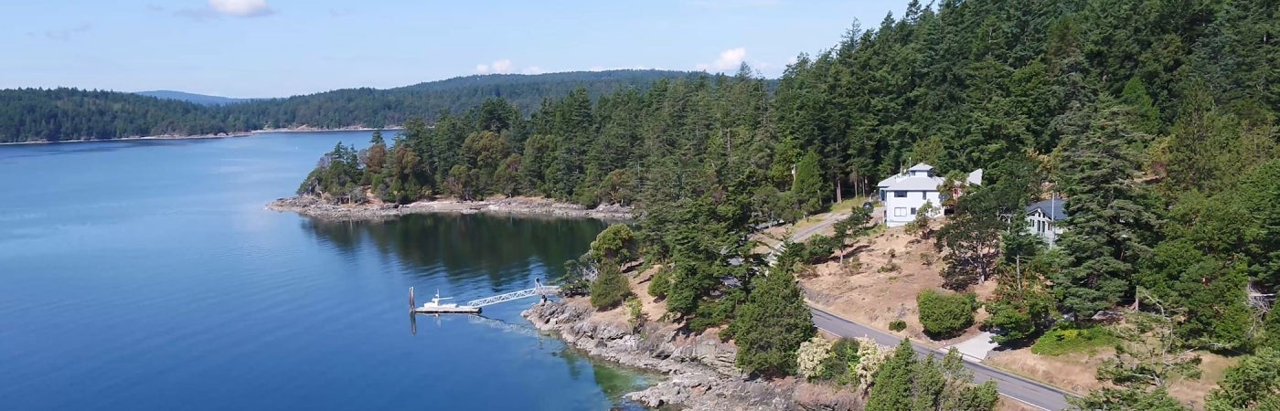 Decatur Island Aerial