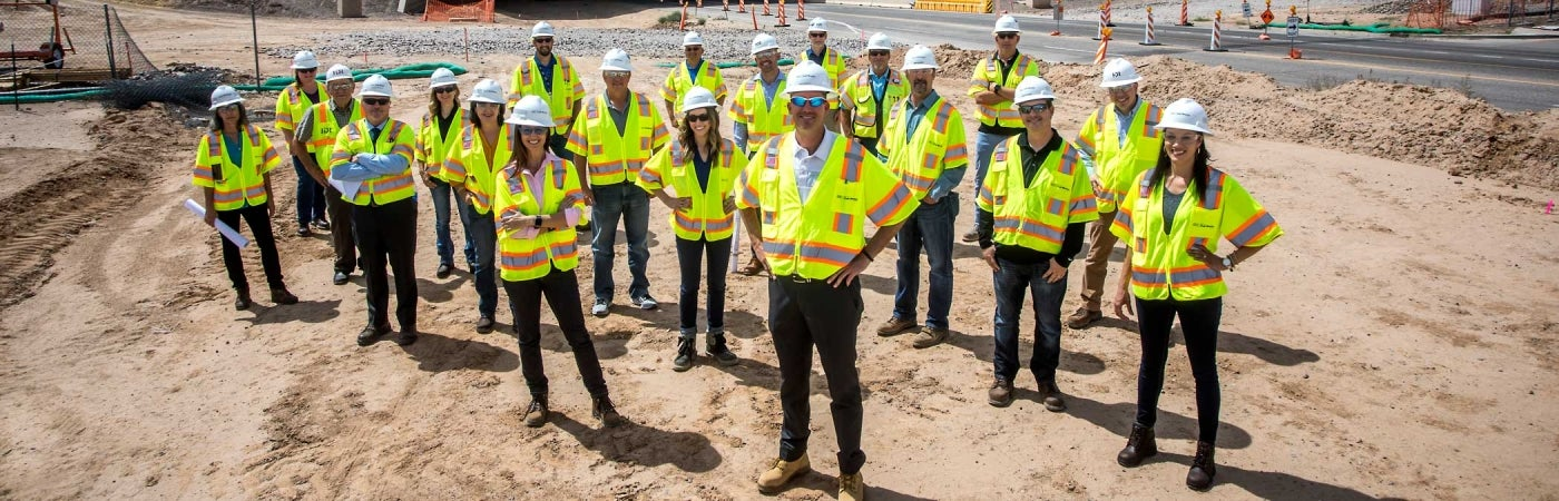 hdr transportation team for arizona department of transportation south mountain freeway project
