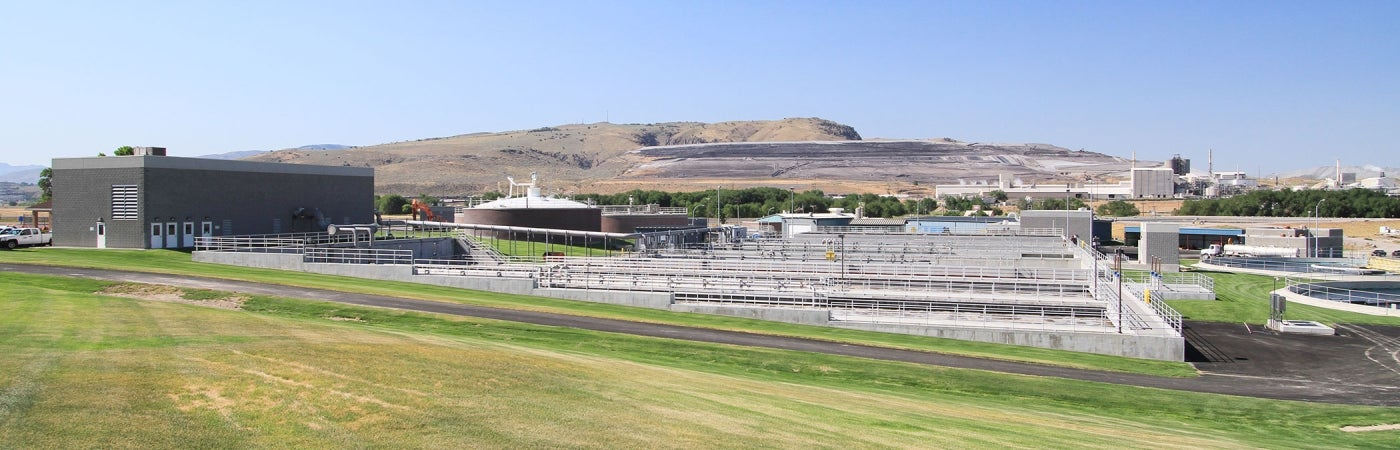 Pocatello Water Pollution Control Facilities, Phase 1 Improvements