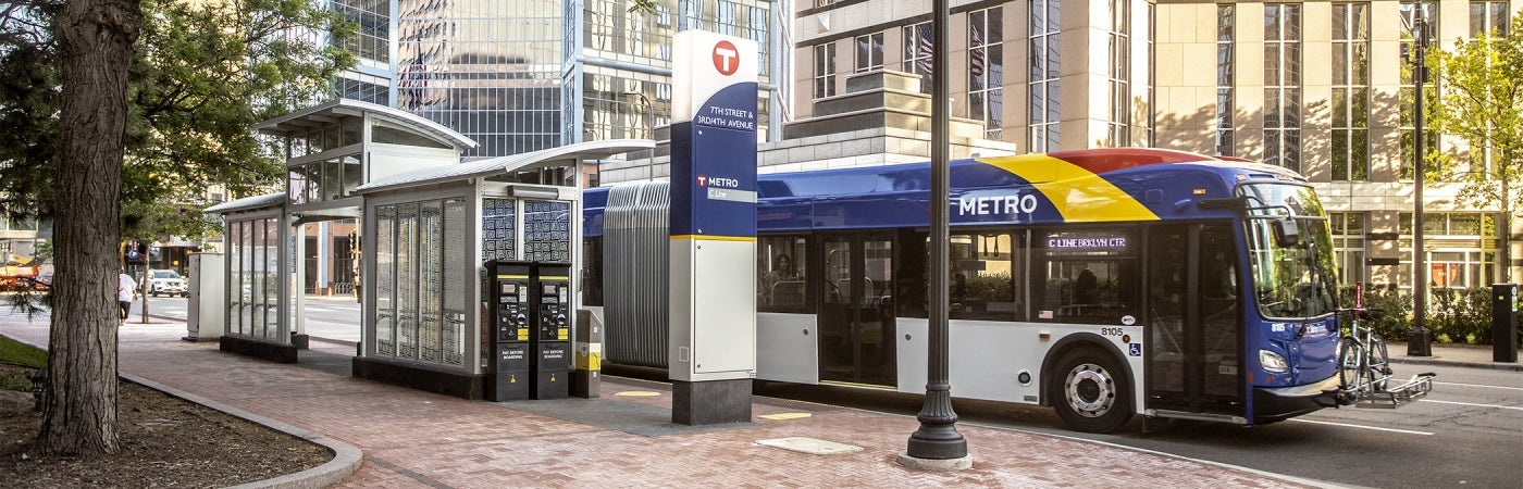 Minneapolis bus rapid transit line