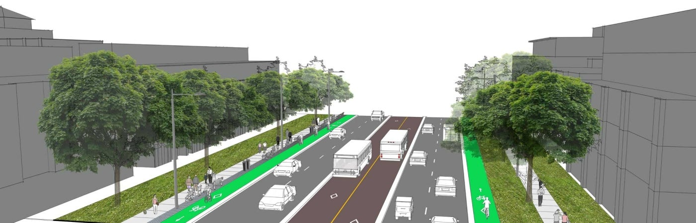 Section 7a Rendering | Mississauga's Lakeshore Road Corridor