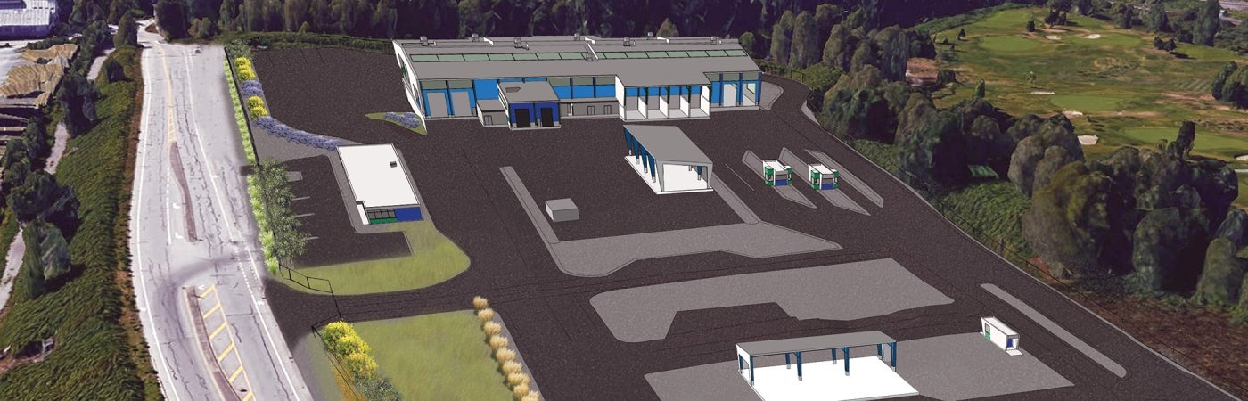 Coquitlam Transfer Station Rendering