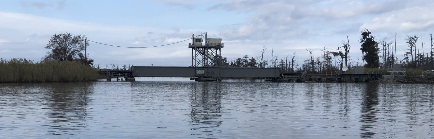 Bayou Sara Swing Span Replacement complete