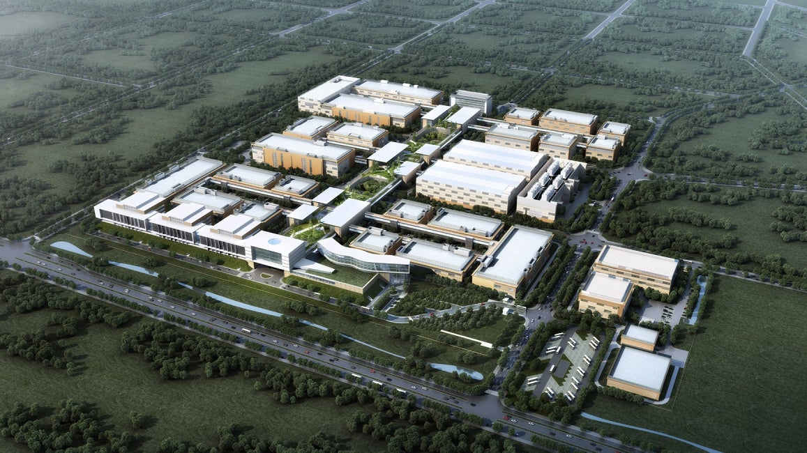 China Resources Daxing Biomedical Park Master Plan Aeriel