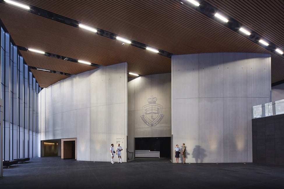 Australian Defence Force Academy (ADFA) Redevelopment Interior shot