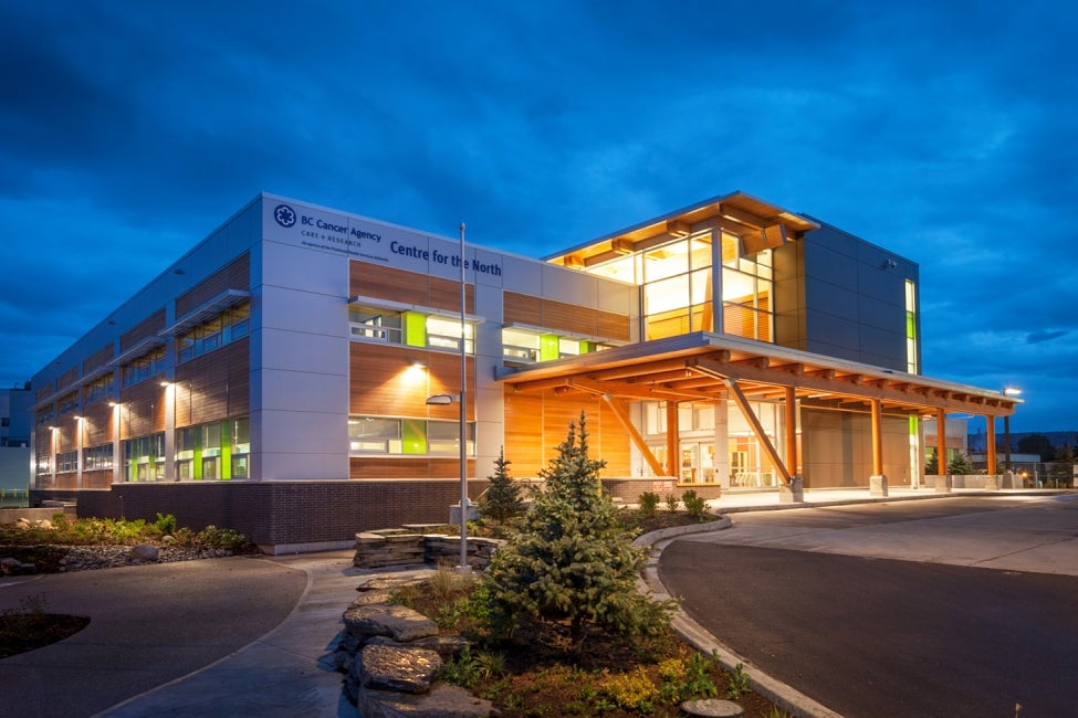 BC Cancer Agency Centre for the North Exterior