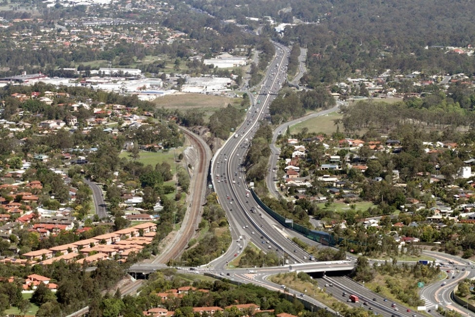 Pacific Motorway Worongary to Robina