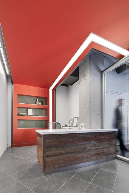 American Institute of Architects Nebraska Office Redesign Director Office