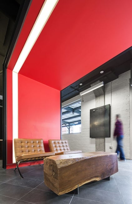 American Institute of Architects Nebraska Office Redesign Seating