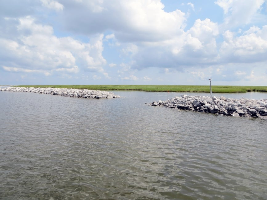 Biloxi Marsh Shoreline Protection