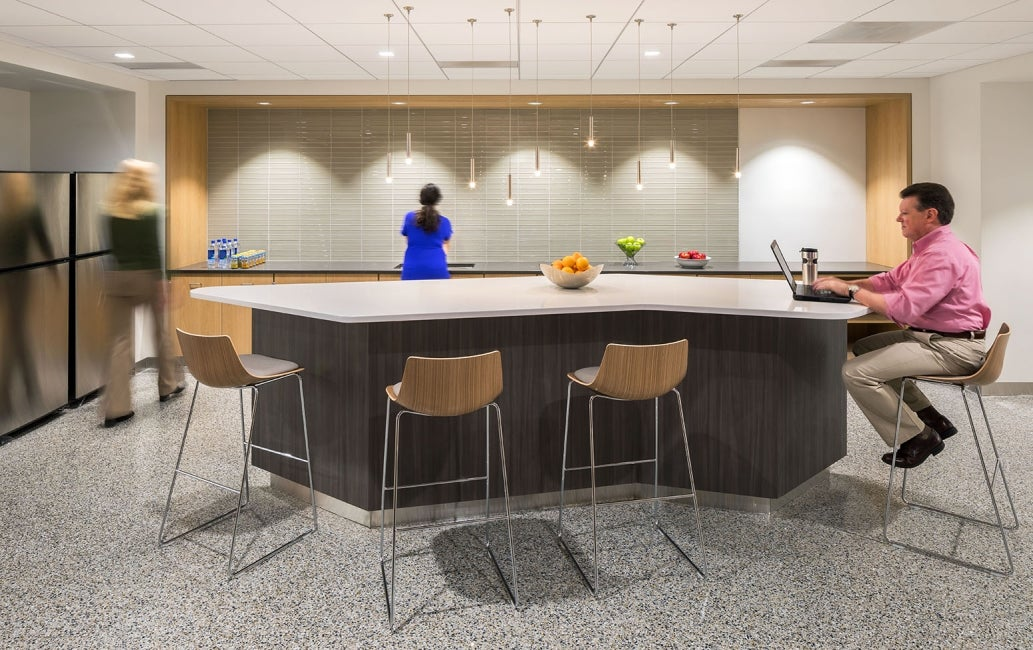 Bristol-Myers Squibb Module E Office Renovation Cafe