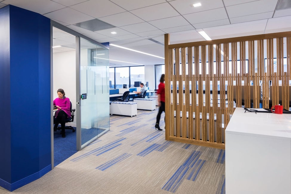 Bristol-Myers Squibb Module E Office Renovation Interior
