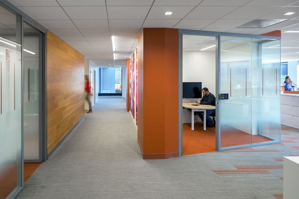 Bristol-Myers Squibb Module E Office Renovation Orange Conference