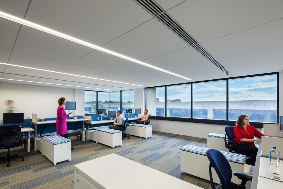 Bristol-Myers Squibb Module E Office Renovation Workspace