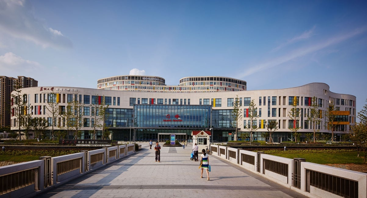 Children's Hospital of Soochow University Exterior