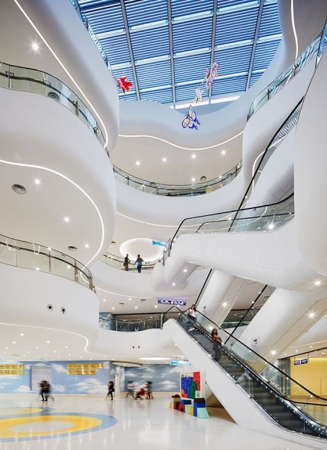 Children's Hospital of Soochow University Atrium