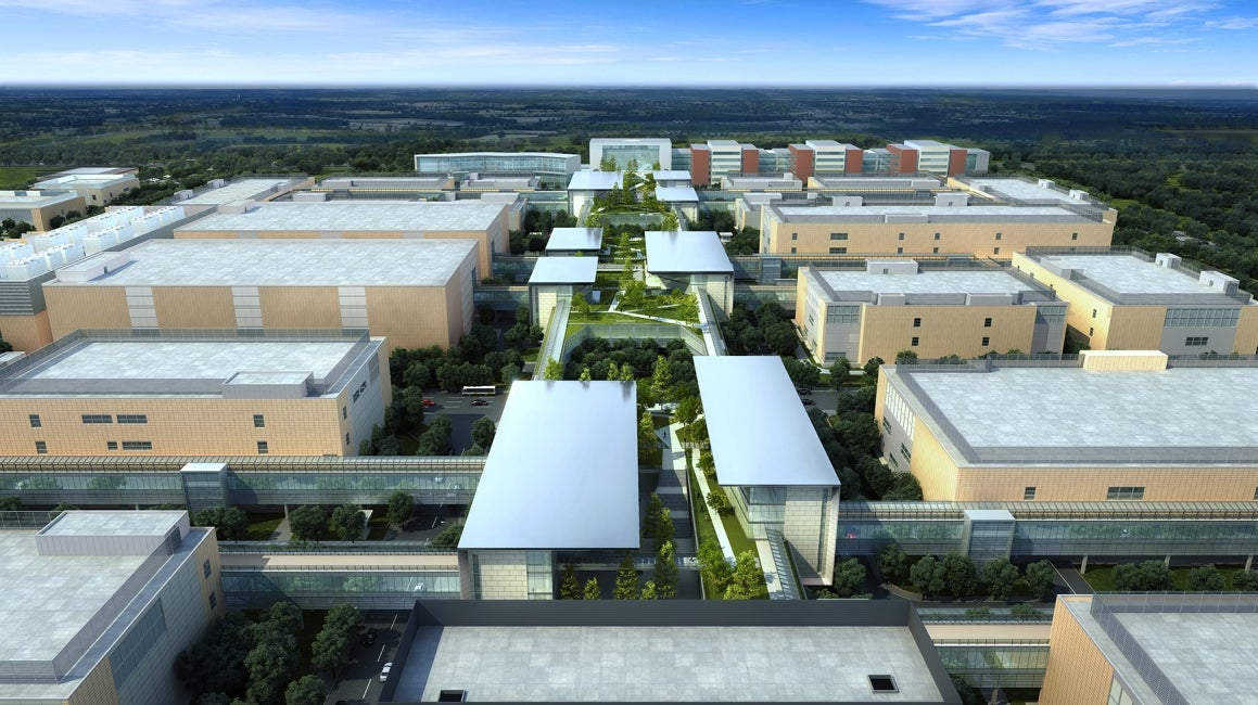 China Resources Daxing Biomedical Park Master Plan