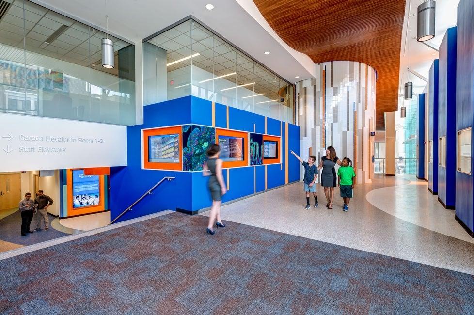 Cincinnati Childrenu0027s Hospital Medical Center Clinical Sciences Pavilion  Corridor