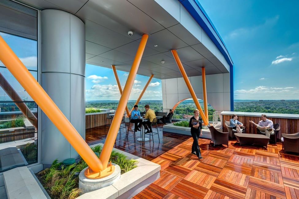 Cincinnati Children's Hospital Medical Center Clinical Sciences Pavilion Exterior Lounge