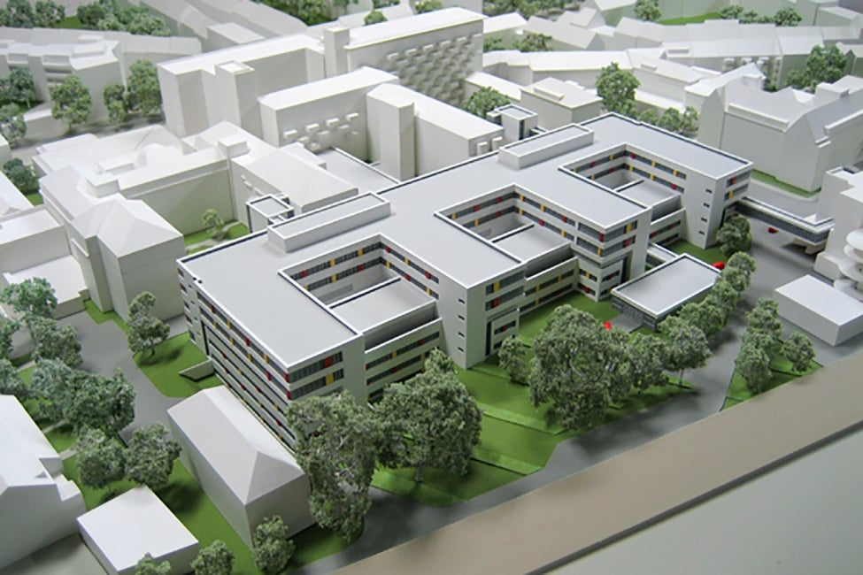 Dortmund-Mitte Clinic - model