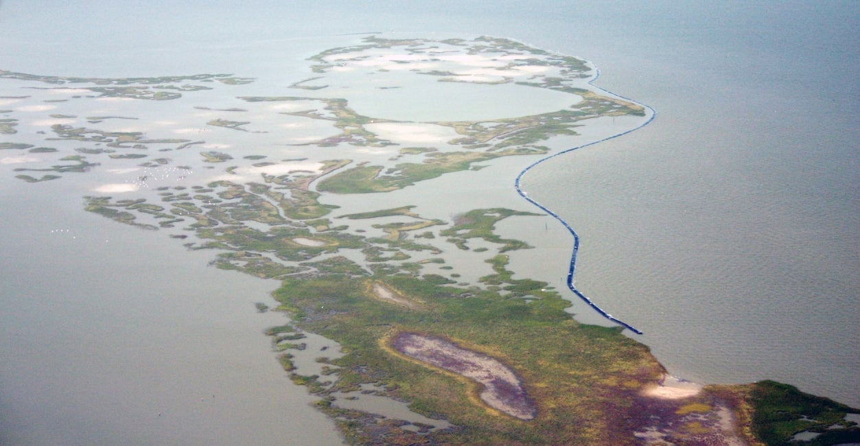 Galveston Island Marsh Restoration Program