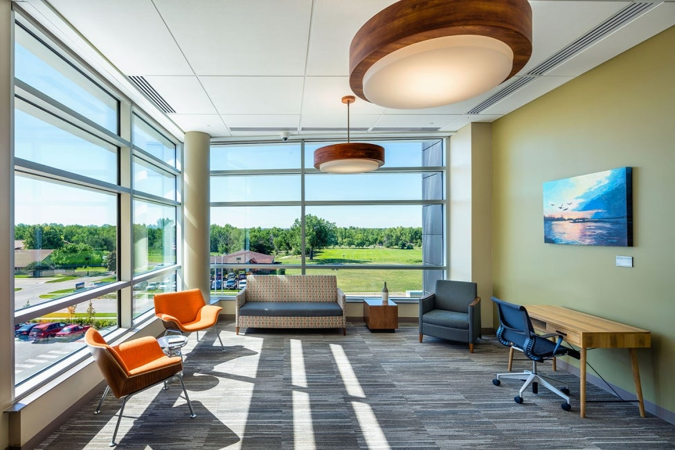 Great Plains Regional Medical Center Waiting Lounge