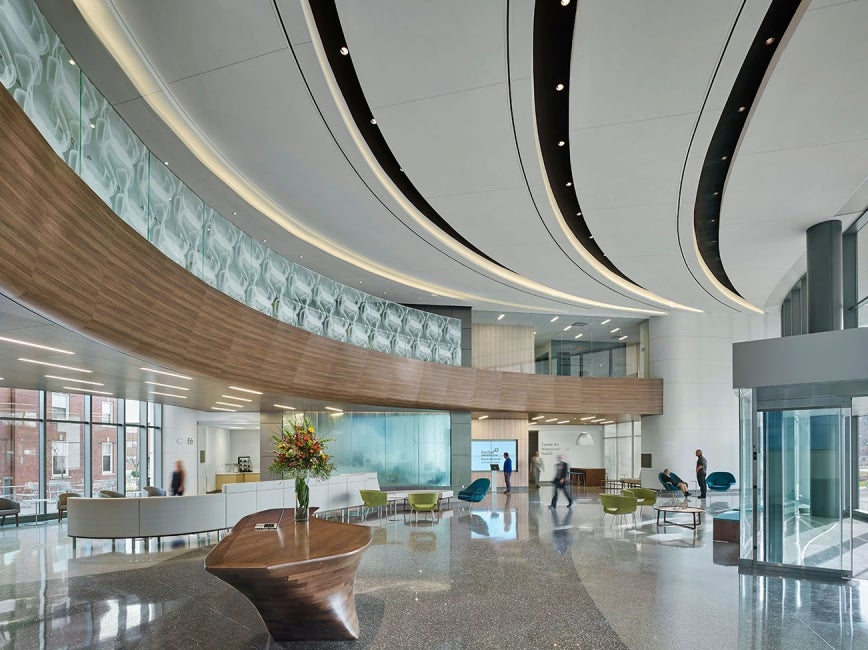 Hartford Hospital Bone & Joint Institute -lobby