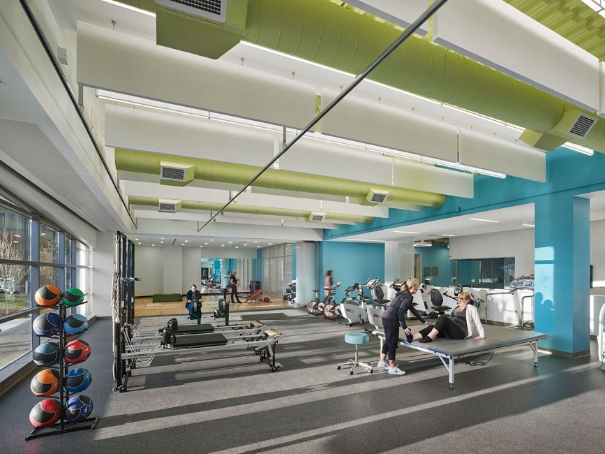 Hartford Hospital Bone & Joint Institute  - rehab_gym